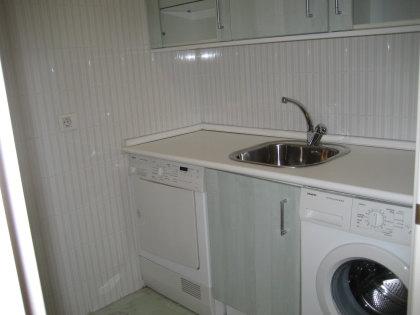 zona de lavado y tendeder