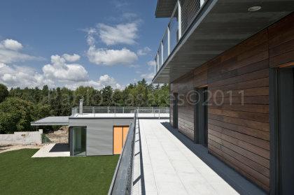 terraza de los dormitorio